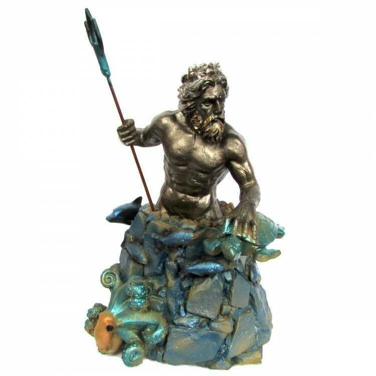 Estátua Deus Poseidon