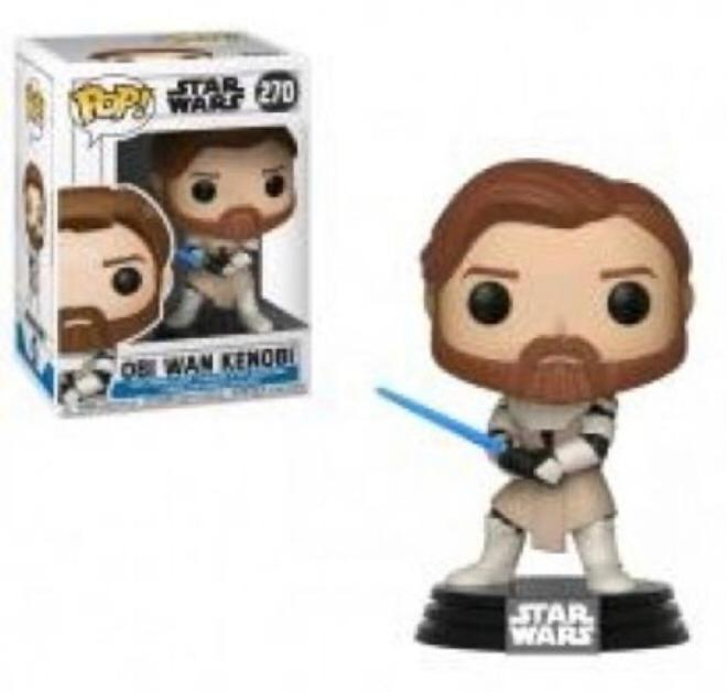 FUNKO POP OBI WAN STAR WARS