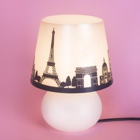 Luminaria abajur micro lampe Paris