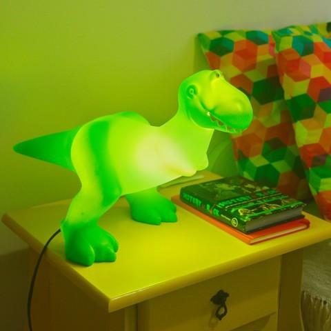 Luminária Rex Toys story