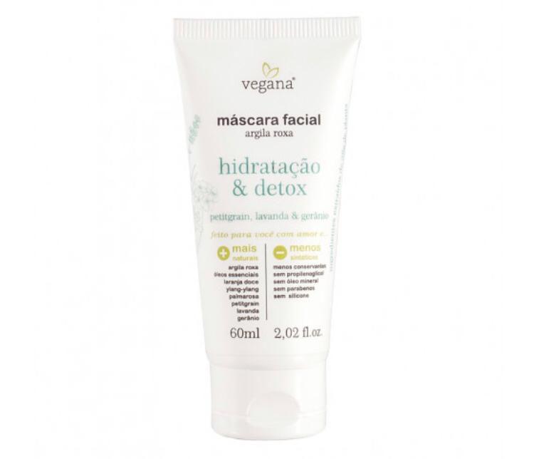 Máscara Facial Hidratação & Detox - 60ml