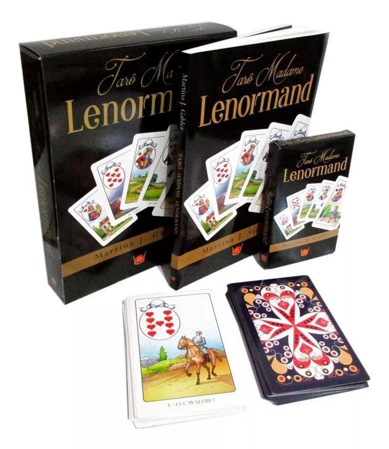 Tarô Lenormand | Livro + 36 Cartas