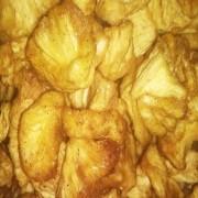 Abacaxi Desidratado com Canela (Granel 100g)