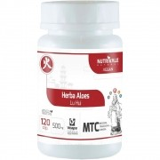Aloe Vera 120 capsulas 500mg MTC