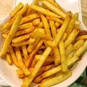 Batata Palito Salsa/Cebola Desidratada Frispy (Granel 100g)