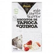Biscoito de Tapioca com Quinoa 50g Fhom