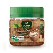 Cubinho de Coco Orgânico 90g Copra