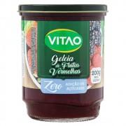 Geleia de Frutas Vermelhas - Zero Adição de Açúcares - 200g