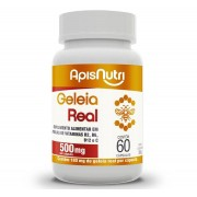 Geleia Real 500mg 60 Caps - ApisNutri