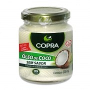 Oleo de Coco sem Sabor 200ml Copra
