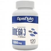 Oleo de Peixe Omega 3 - 120 Caps Apisnutri