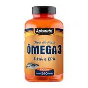 Óleo de Peixe Omega 3 - 240 Caps 1000mg
