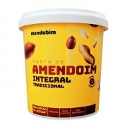 Pasta de Amendoim integral Tradicional 450g -Mandubim