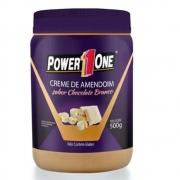 Creme de Amendoim Sabor Chocolate Branco 500g - Power One
