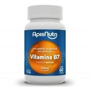 Suplemento De Vitamina B7 60 Caps 280Mg Apis Nutri