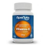 Suplemento de Vitamina E 60 Caps 280mg Apis Nutri