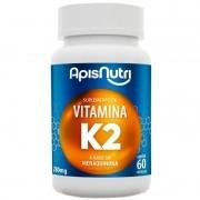 Suplemento de Vitamina K2 60 caps 280mg Apis Nutri