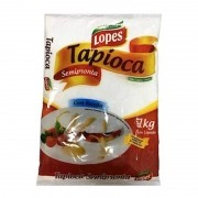 Tapioca Semipronta 1kg Lopes