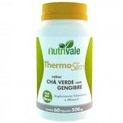 Thermo Slim Chá Verde com Gengibre 60 Cápsulas 500mg