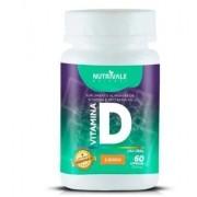 Vitamina D 60 caps 500mg Nutrivale