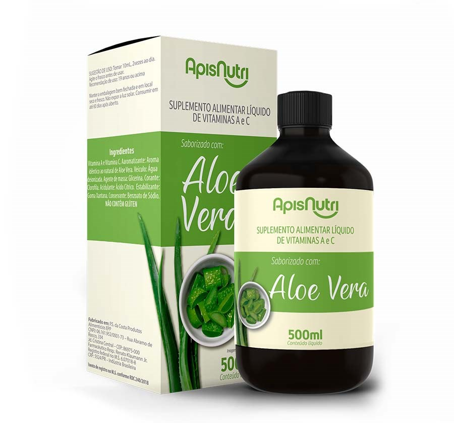 Aloe Vera 500 ML - ApisNutri