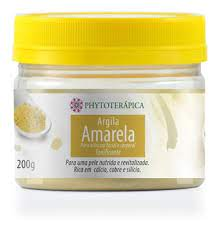 Argila Amarela Phytoterápica 200g