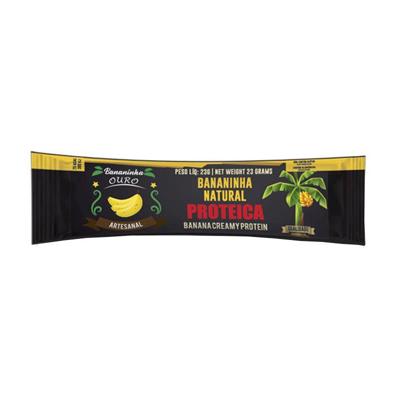 Bananinha Natural Proteica Unidade 23g