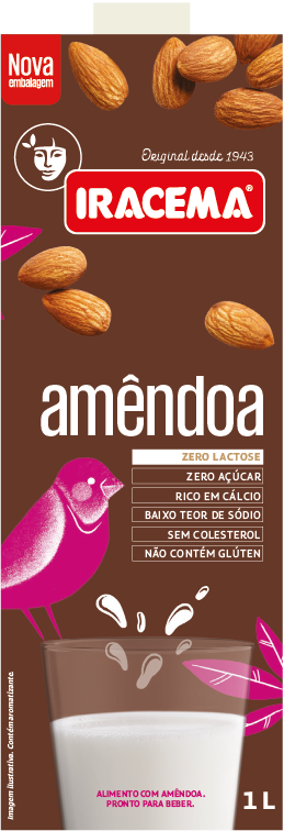 Bebida de Amendoa 1Litro Iracema