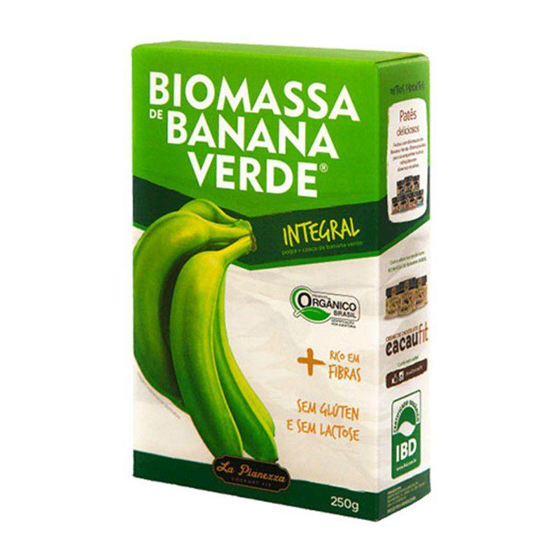 Biomassa de Banana Verde 250g La Pianezza