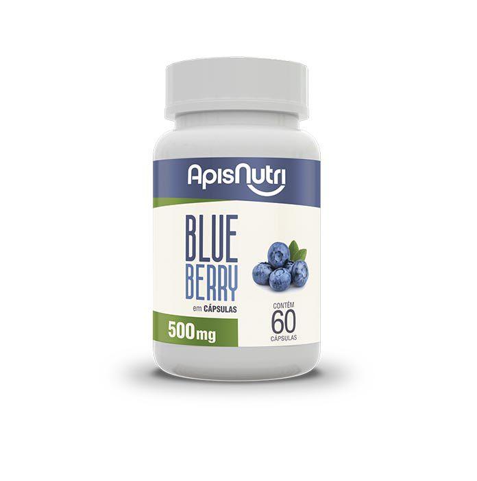 Blueberry 60 Capsulas 500mg Apis Nutri