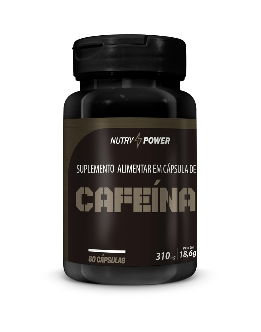 Cafeína Super 60 Caps 310mg Nutry Pawer