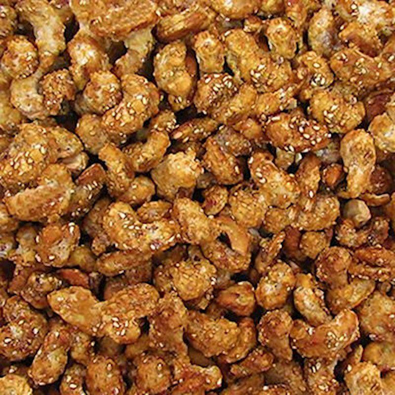 Castanha de Caju Caramelizada C/ Gergelim (Granel 100g)