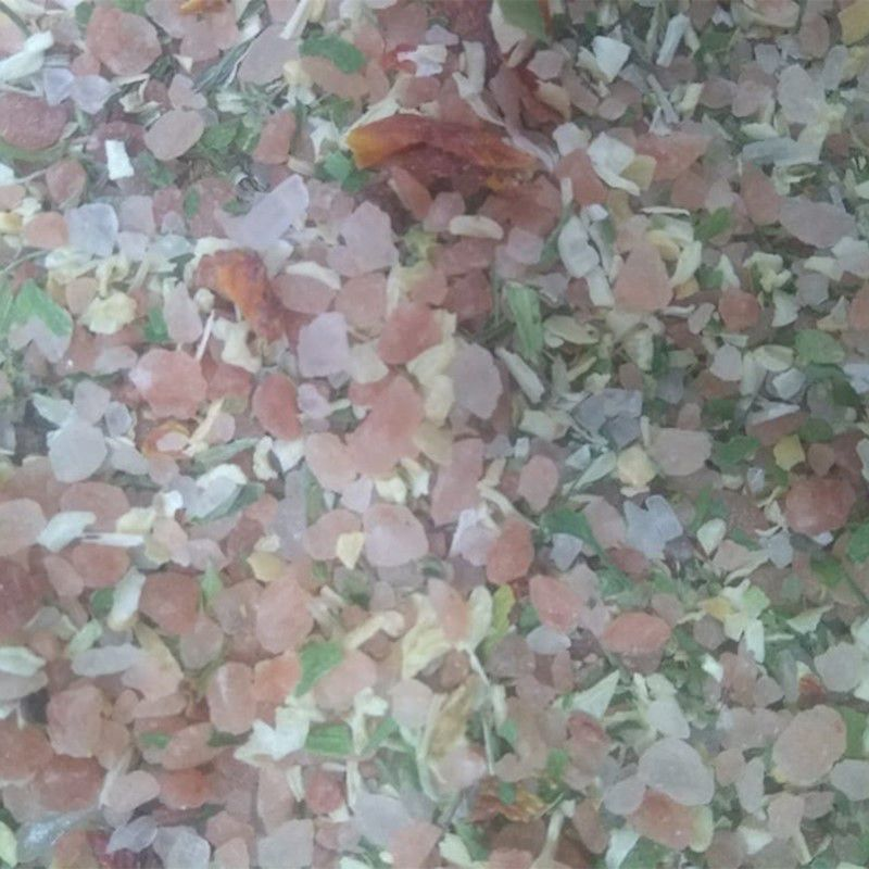 Chimi Churry com sal rosa do himalaia grosso (Granel 100g)