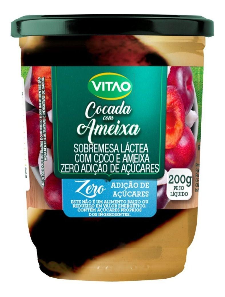 Cocada com Ameixa Zero Açúcar Vitão 200g