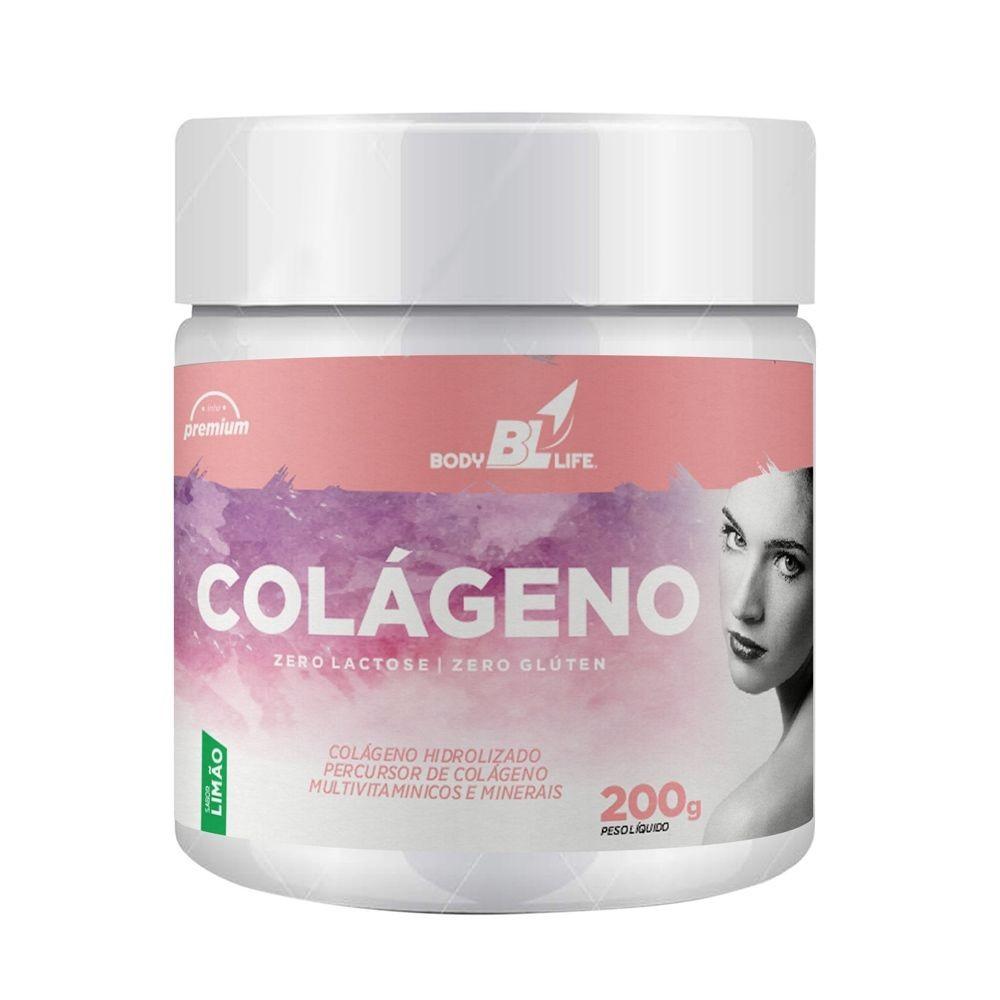 Colageno Hidrolisado em Pó Limão 200g BodyLife 200g