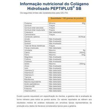 Colágeno Hidrolisado Gelita (Granel 100g)