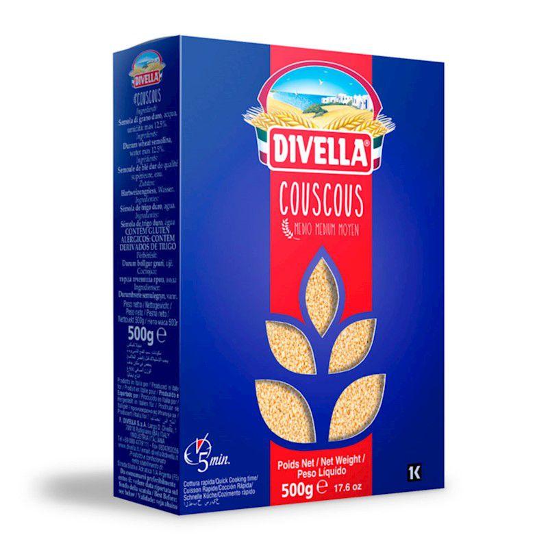 Couscous Marroquino 500g Divella