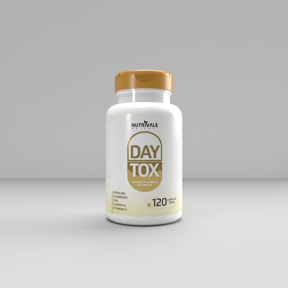 Day Tox 120 caps 500mg Nutrivale