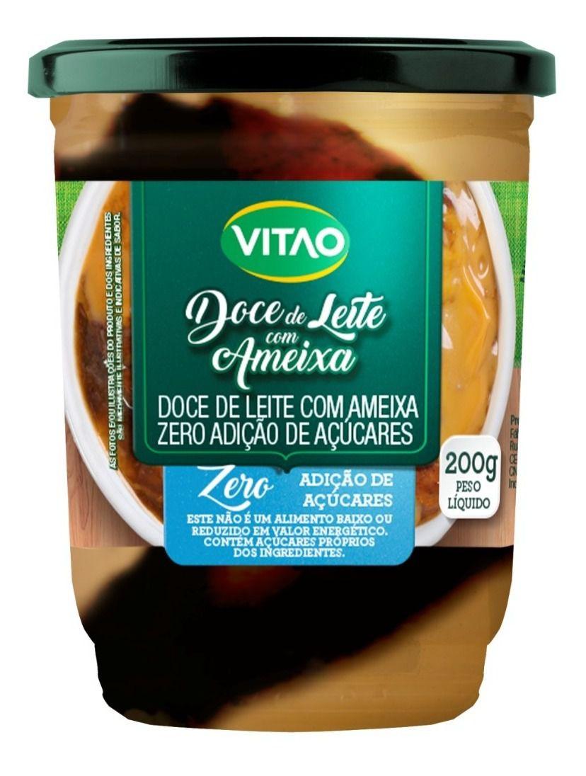 Doce de Leite com Ameixa Zero Açúcar Vitão 200g