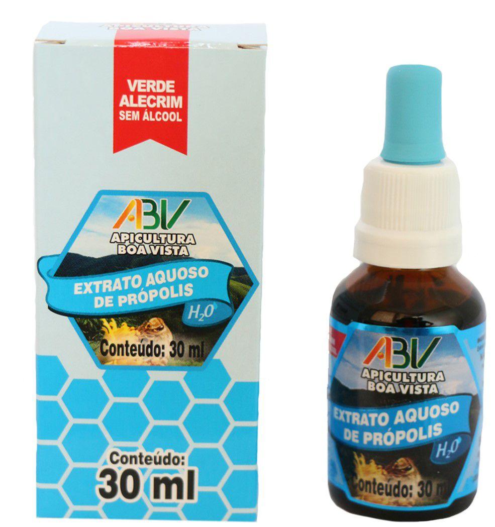 Extrato de própolis verde aquoso 11% 30ml s/alcool