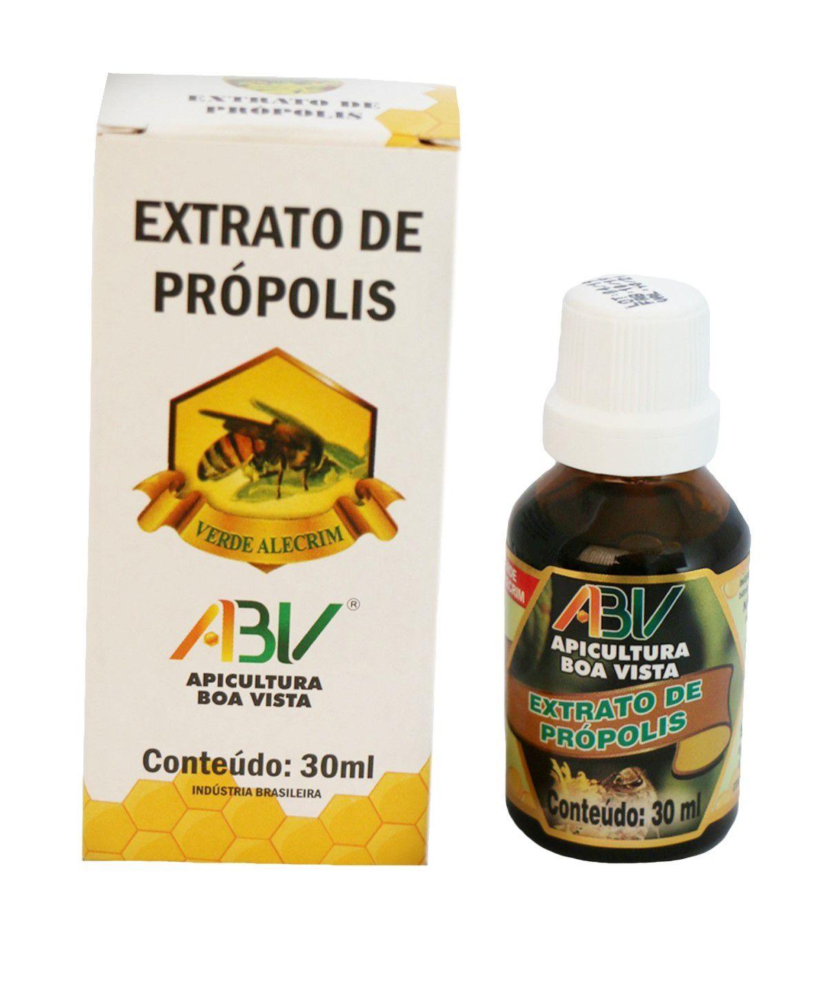 Extrato de própolis verde vidro 11% 30ml c/alcool