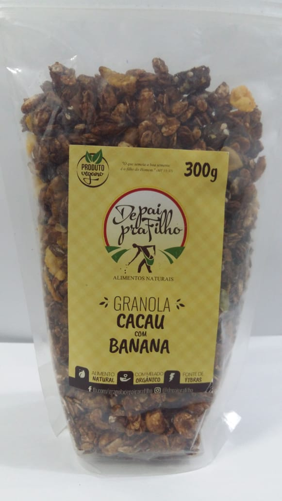 Granola Cacau com Banana 300g