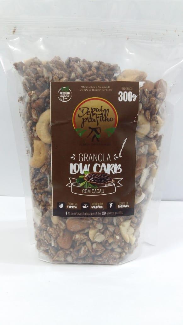 Granola Low Carb Cacau 300g