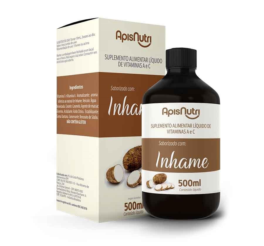 Inhame 500 Ml - ApisNutri