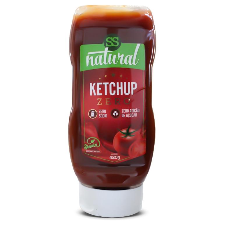 Ketchup Zero 420g SS Natural