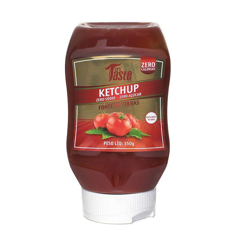 Ketchup Zero Sódio Zero Açucar Zero Calorias 350g