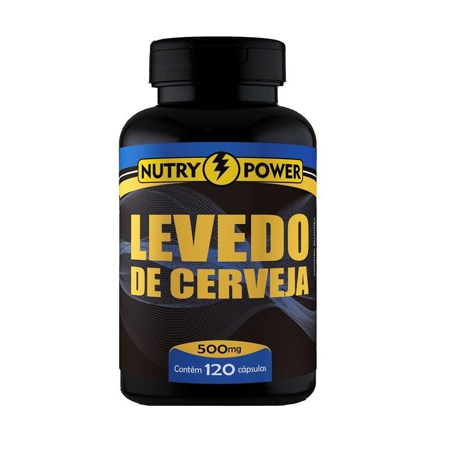 Levedo De Cerveja 120 Caps 500mg Nutry Power