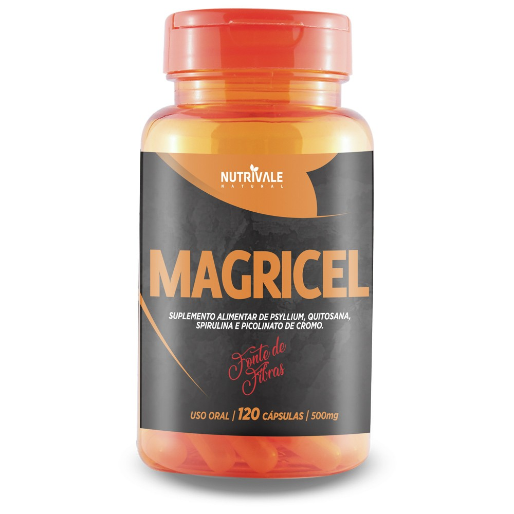 Magricel 120 caps 500mg Nutrivale