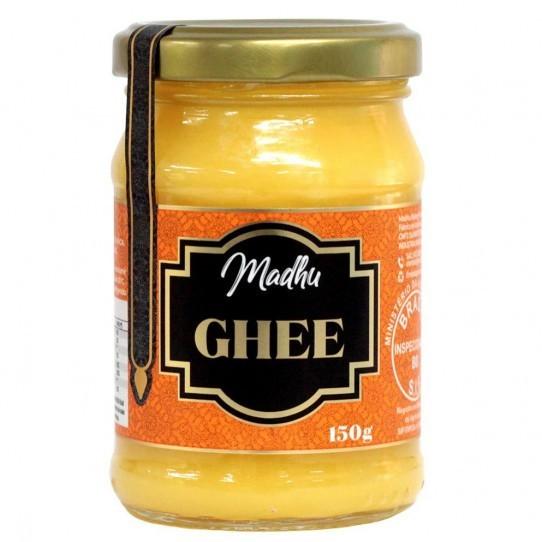 Manteiga Ghee Original 150g | Madhu Ghee