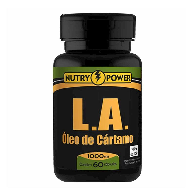 Oleo de Cartamo 60 Caps 1000mg Apisnutri